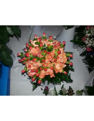 Ramo de Novia Rosas Naranja